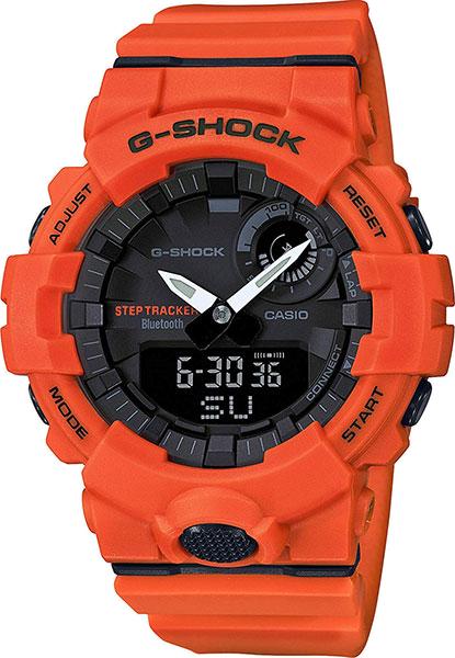 Красные и оранжевые мужские часы